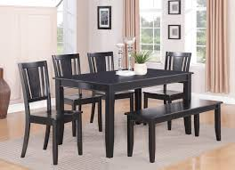 black kitchen dining sets:  contemporary kitchen black kitchen table with bench fancy  piece dining set kitchen tables and