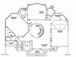 Eplans Neoclassical House Plan   A Grand Design   Square Feet    Sub Basement view expanded size