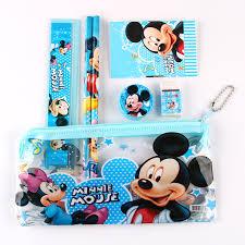 <b>1 pcs Mickey</b> Mouse pencil case for children cute sticker estojo ...