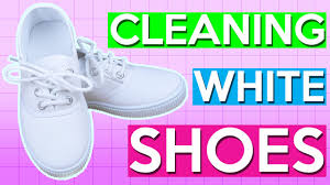 How to Clean <b>White Canvas Shoes</b> | PINTRY - YouTube