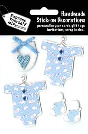 Elliot Blue <b>Name</b> Sticker <b>DIY Greeting</b> Card Toppers Personalise ...
