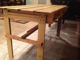 diy pallet desk table pallet furniture plans build office desk