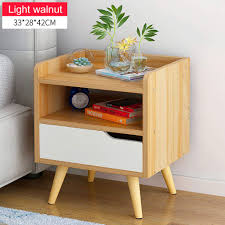 Bamboo <b>Bedside Table</b> Cabinet Drawer Unit Storage <b>Stylish</b> Strong ...