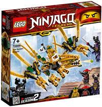 <b>Конструктор LEGO Ninjago Золотой</b> Дракон 70666 – купить в ...