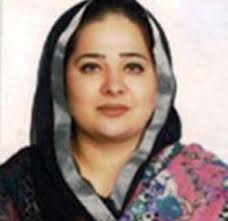 Lahore: Seemal Kamran, an MPA from opposition the Pakistan Muslim League –Quaid got angry and slapped security personnel when they kept calling her aunty ... - Seemal-Kamran2
