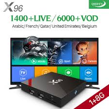 <b>Arabic IPTV</b> Box QHDTV <b>IPTV</b> Subscription TV Receiver <b>X96W</b> ...