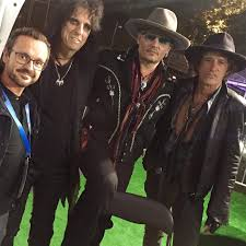 legendary after the interview the hollywood vampires alice after the interview the hollywood vampires alice cooper johnny depp and