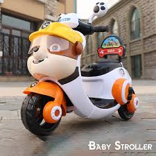Electrical Motorbike Children Charging Boy Tricycle Girl Battery ...