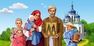 Imagini pentru FAMILIA LA BISERICĂ