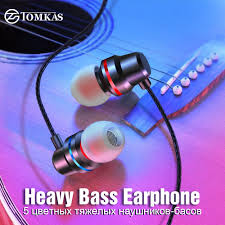 TOMKAS New <b>Universal Headphones 3.5mm</b> In Ear Stereo Earbuds ...
