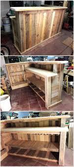 pallet wooden dining table handmade