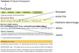 Notice the details  such as quotes  periods and italics when working on your citation