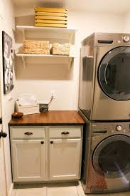 Narrow Laundry Room Ideas 25 Best Stacked Washer Dryer Ideas On Pinterest Stackable