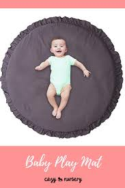 modern style baby play mat