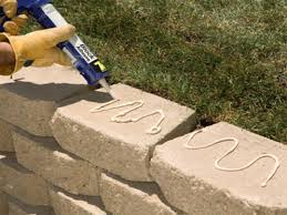 landscaping retaining wall patio overview
