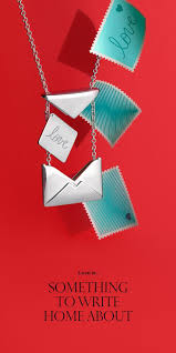 Send our love. Tiffany Charms Sweet Nothings love <b>letter</b> pendant in ...