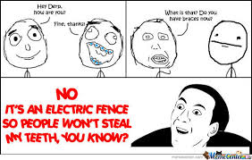 Electric Fence Memes. Best Collection of Funny Electric Fence Pictures via Relatably.com
