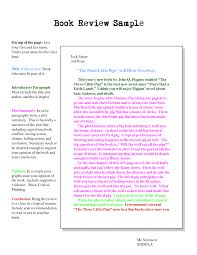 png example of book review essay