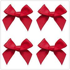 50pcs Mini Satin Ribbon Bows Fabric Ribbon Flowers ... - Amazon.com