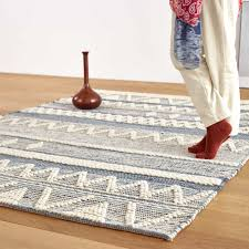<b>Nordic Style Handmade Woven</b> Cotton Carpet Living Room Coffee ...
