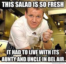 Gordon Ramsay Fresh Prince | WeKnowMemes via Relatably.com