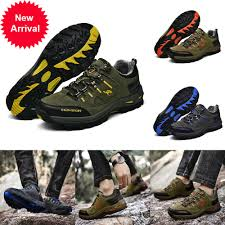 Qiu Ping <b>Mens Fashion</b> Climbing Skidproof Large Size Leather <b>Shoes</b>