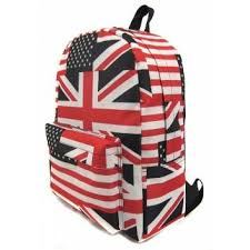 <b>Рюкзак</b> British Flag <b>Creative LLC</b>, цвет красный, артикул 40623 ...