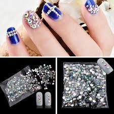 <b>Смола</b> декоративные украшения ногтей дрель <b>AB</b> белый алмаз ...