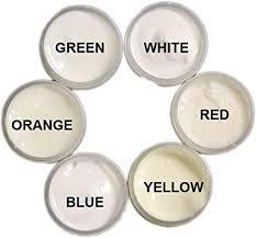 Amazon.com: <b>SIX Color</b> UV Reactive <b>Fluorescent</b> Invisible Neutral ...