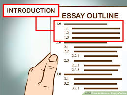 easy ways to write an essay outline   wikihow image titled write an essay outline step