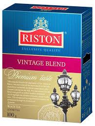 <b>Чай черный Riston</b> Vintage Blend — купить по выгодной цене на ...