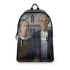 <b>Рюкзак 3D</b> Американская готика (Грант Вуд) #2726140 – <b>рюкзаки</b> ...