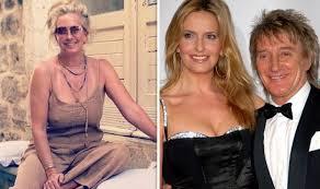 <b>Rod Stewart's</b> wife Penny Lancaster sparks frenzy as she flaunts ...