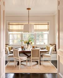 dining room bench seating: dining room bench seating dining room traditional with dining chairs window seat white paneled ceiling