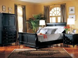 black sleigh bedroom set antique black bedroom furniture