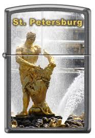 <b>Зажигалка Zippo</b> 28378 <b>Peterhof</b>, Зажигалки Россия