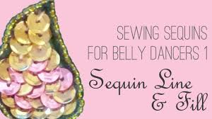 How to Sew <b>Sequins</b> 1: <b>Sequin</b> Lines & Fill - YouTube