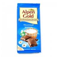 <b>Шоколад Alpen Gold Молочный</b> - калорийность, полезные ...
