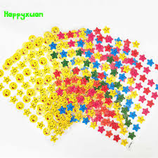 Happyxuan <b>20sheets</b>/<b>pack</b> Stickers Stars for Scrapbook Paper ...