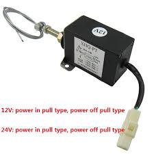 XHQ PT <b>12V</b> power off pull type Diesel Engine <b>Stop Solenoid for</b> ...