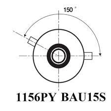 <b>2PCS Super Bright</b> 1156PY 7507 PY21W BAU15S <b>15 led</b> 5630 smd ...