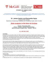 epidemiology seminar epidemiology biostatistics and epidemiology seminar