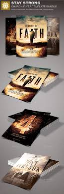stay strong church marketing flyer bundle marketing flyers churches