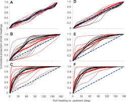 the spatiotemporal dynamics of rheotactic behavior depends on flow figure