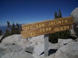 Image result for San Jacinto Mountain.
