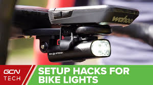 <b>Bike</b> Light Set Up Hacks | How To <b>Mount Bicycle Lights</b> - YouTube