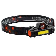 <b>LED Headlamp Magnetic USB</b> Rechargeable COB Headlight with ...