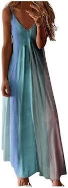 Changeshopping_Dresses for Women Casual Summer Long Maxi ...