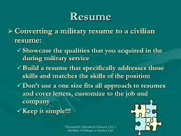 military resume writing services military resume writing