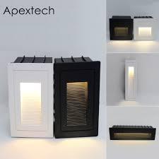 <b>Apextech</b> Outdoor Wall <b>Lamp LED</b> Step <b>Lights</b> Embedded Deck ...
